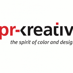 pr-kreativ gmbh - logo - the spirit of color