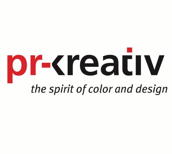 pr-kreativ gmbh - logo - the spirit of color